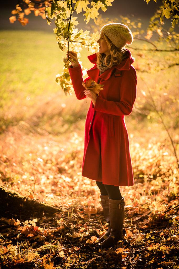 Herbstausflug mit Sandra