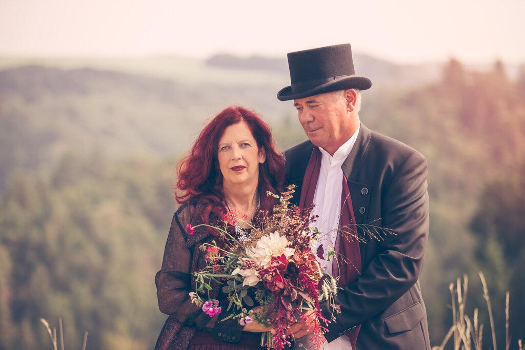 Alfred und Evelyn